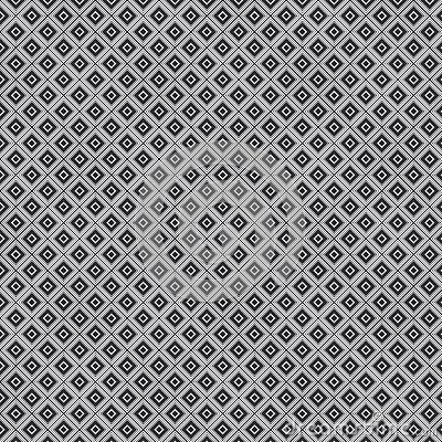 Texture of white rhombus on a gray background