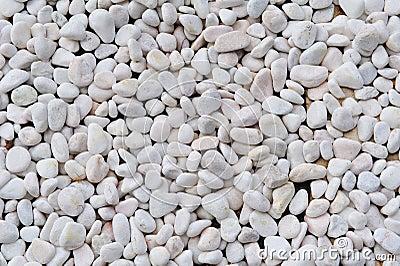Texture of white stones