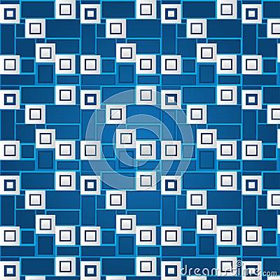 Texture of white volumetric squares