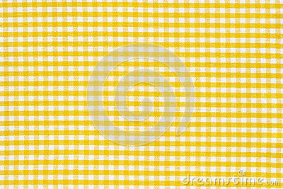 Texture white yellow tablecloth
