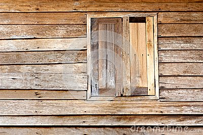 Texture of wood and window
