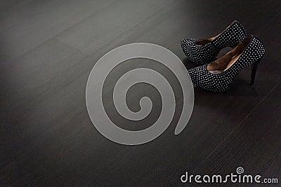 Texture of wooden floor