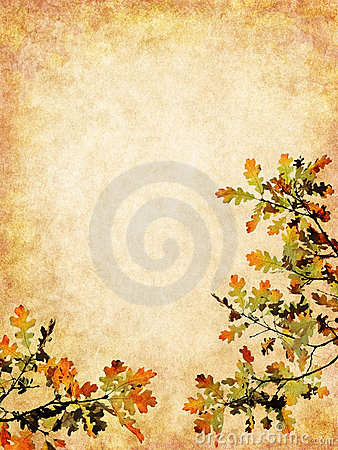 Textured Autumn Leaves