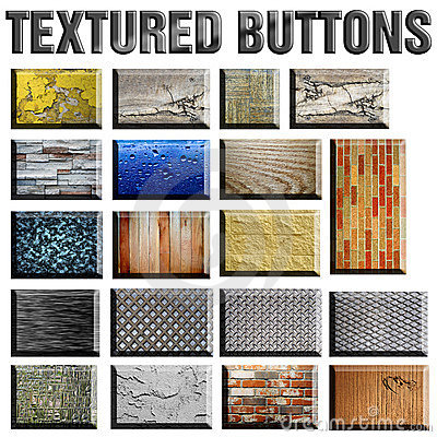 Free Textured Buttons Royalty Free Stock Image - 17685026