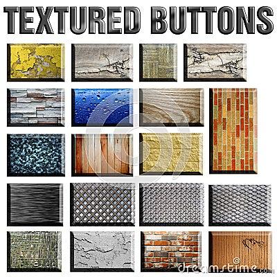 Textured Buttons