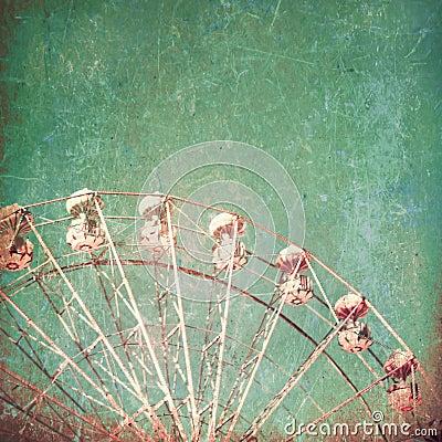 Textured Ferris Wheel