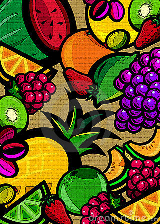 Free Textured Fruit Background Stock Photo - 3998530