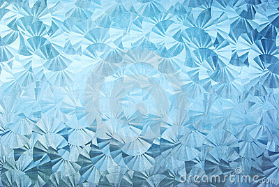 Textured patterned glass