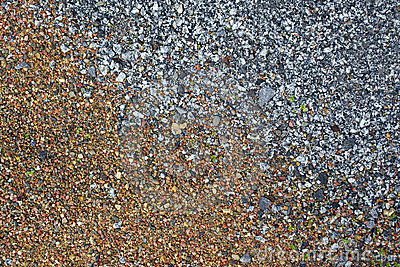Textured pebbles background