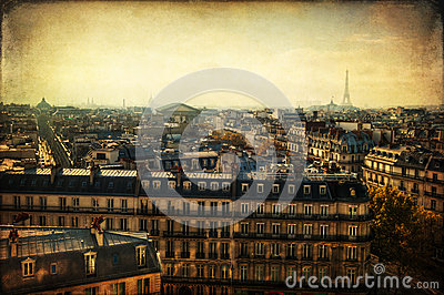 Textured picture from Paris