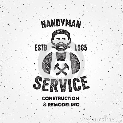 Retro Handyman carpent...