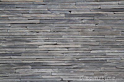 Textured rock wall
