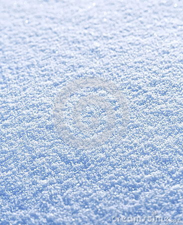 Textured snow background