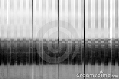 Textured stainless steel panel vertical pattern