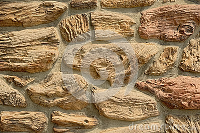Textured Stone Wall