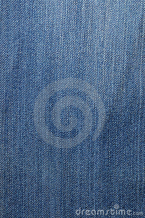 Textured striped blue jeans linen fabric