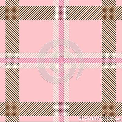 Textured tartan plaid pattern