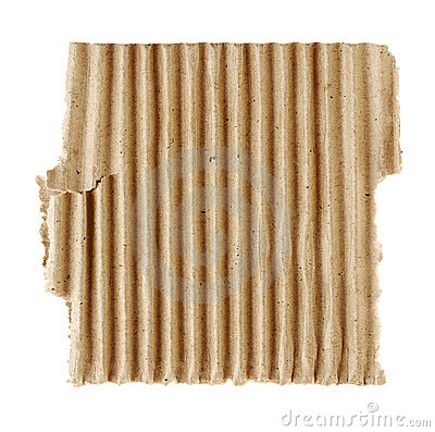 Textured torn carton