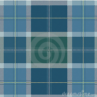 Textured Vector Scottish Tartan fabric