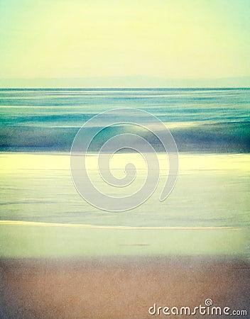 Textured Vintage Seascape