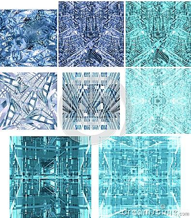 Texturer för 1 stadsframtid