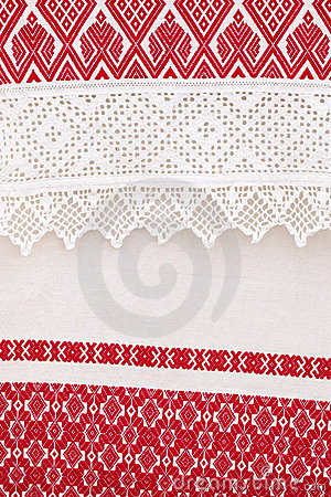 Texturerat linne