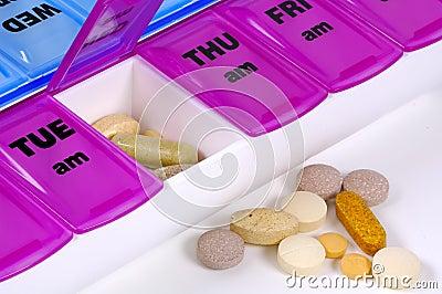 Tägliche Medikation