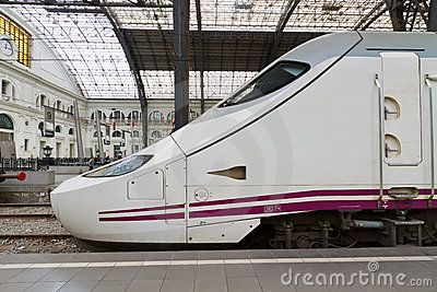 TGV. high speed train