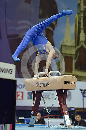 5th European Championships in Artistic Gymnastics Editorial Image