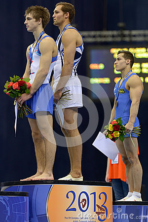 5th European Championships in Artistic Gymnastics Editorial Stock Photo