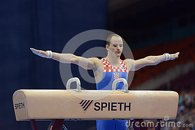 5th European Championships in Artistic Gymnastics Editorial Photography