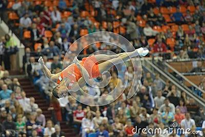 5th European Championships in Artistic Gymnastics Editorial Image