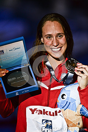 15th FINA WORLD CHAMPIONSHIPS Barcelona 2013 Editorial Image