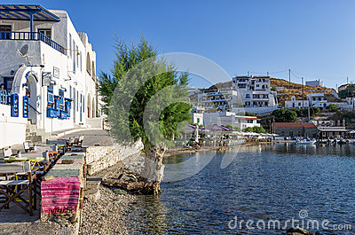 24th July 2015 - Kythnos island, Cyclades, Greece Editorial Stock Photo
