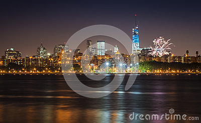 4th of July in NYC Editorial Photo