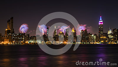 4th of July in NYC Editorial Stock Photo