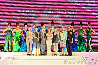The 11th Miss Tourism selection international 2013 Editorial Image