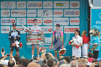 50th Presidential Cycling Tour of Turkey Editorial Photo