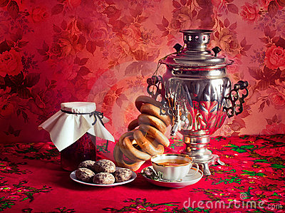 Thé russe