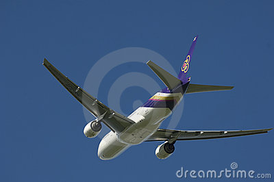 Thai Airways A320 Editorial Photography