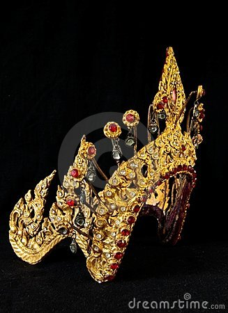 Thai ancient crown