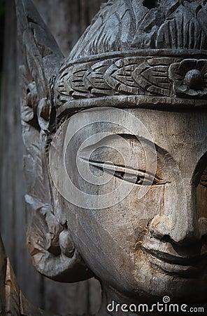 Thai angle face
