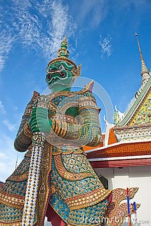 Free Thai Antique Giant Stock Photo - 15035750
