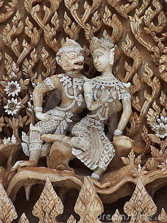 Thai art in love