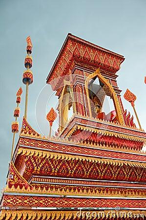 Thai art monk