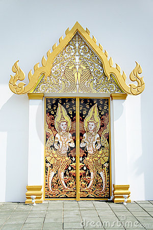 Thai art on Pavilion