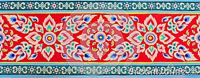 Thai art texture