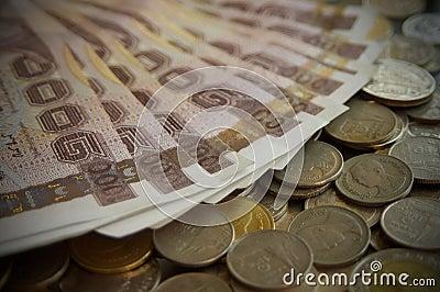 Thai bath money