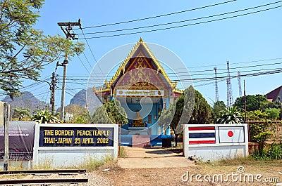 Thai Border Peace Temple Thai - Japan At Three Pagodas ...