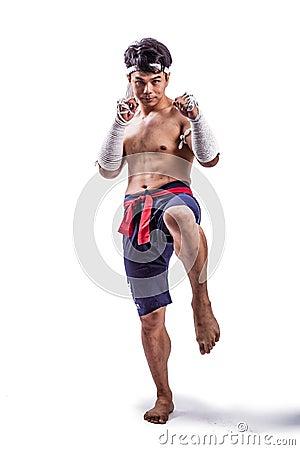 A thai boxer